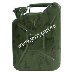 Jerry Can 10 Litros Camuflaje Militar