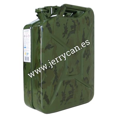 Jerry Can de 20 Litros en color Camuflaje Militar