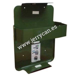 Soporte verde cinturón Jerry Can