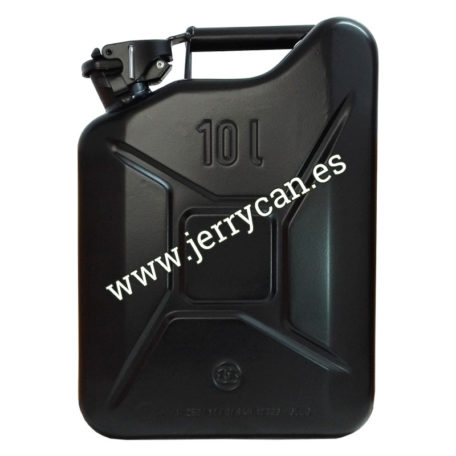 Jerry Can Negro 10 Litros