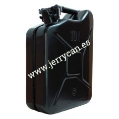 Jerry Can de 10 Litros en color Negro