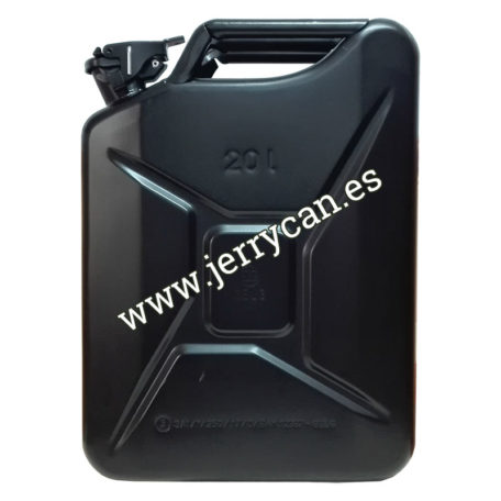Jerry Can Negro 20 Litros