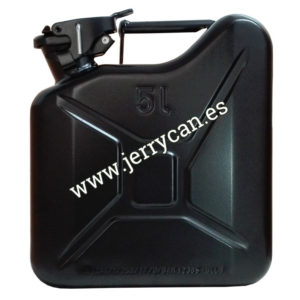 Jerry Can Negro 5 Litros