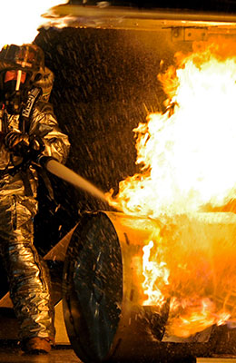 Riesgos de incendios y explosiones