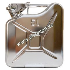 Jerry Can 5 Litros Acero Inoxidable